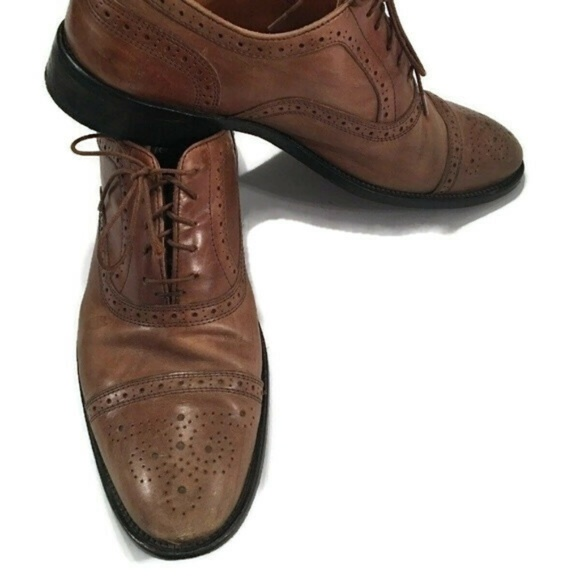 9f64bad236b3d Mercanti Fiorentini Leather Shoes 11 M Italy